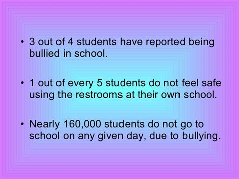thesis of bullying at schools college essays college application essays essay about