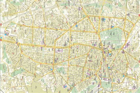 maps of maps of madrid