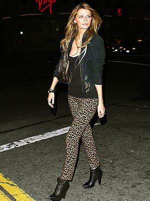 Would You Wear Mischa Bartons Clothes by Would You Wear Leopard Print Like Mischa Barton