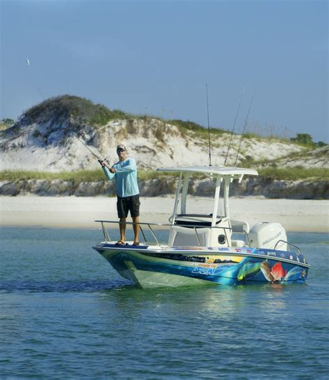 plateforme raptor boat panama city beach fishing charters guides sport fishing
