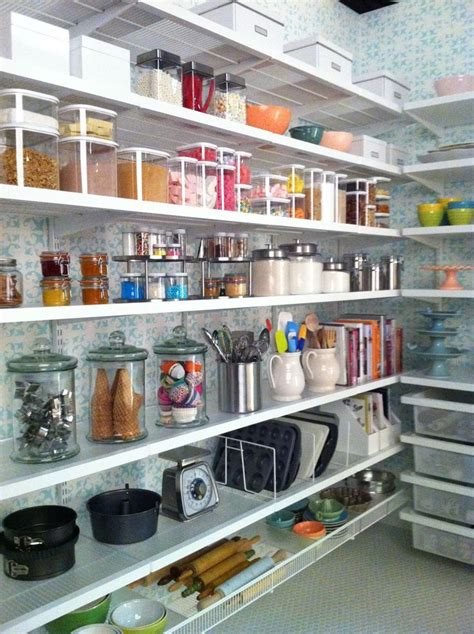 Bakers Pantry | white elfa d 233 cor baker s pantry pantry organize and