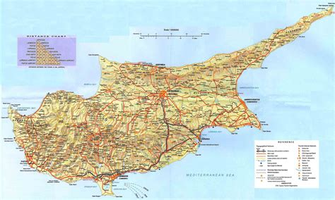cyprus map cyprus map detailed map of cyprus town maps