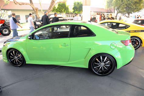 Custom Kia Manny De Encio Brings A Modified 2010 Kia Forte Coupe To
