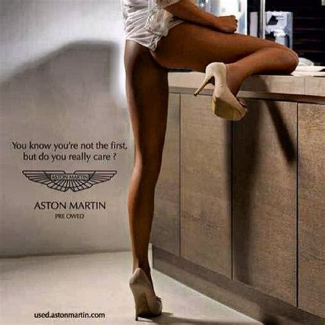 used aston martin ad quot women not objects quot caign is a reminder to advertisers