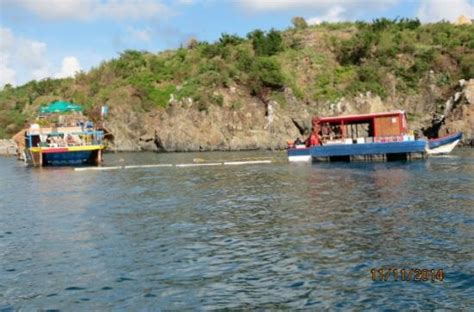 Tiki Hut Snorkel The Floating Tiki Hut In St Maarten Picture Of Tiki Hut