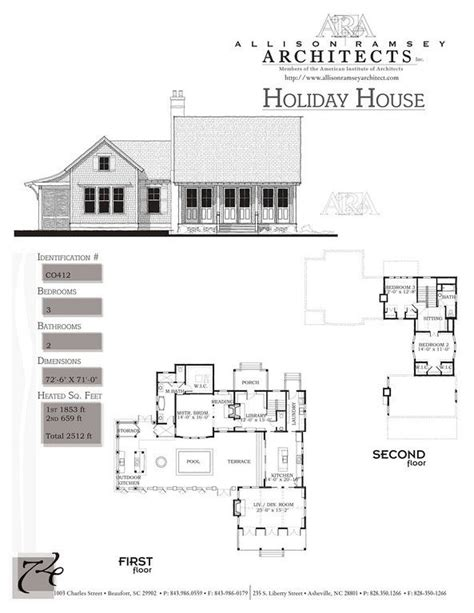 port royal coastal cottage allison ramsey architects the holiday house by allison ramsey architects built at