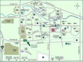 Eastern Michigan Campus Map by Directions Department Of Microbiology Amp Molecular Genetics