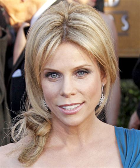 Cheryl Hines Updo Long Straight Casual Updo Hairstyle