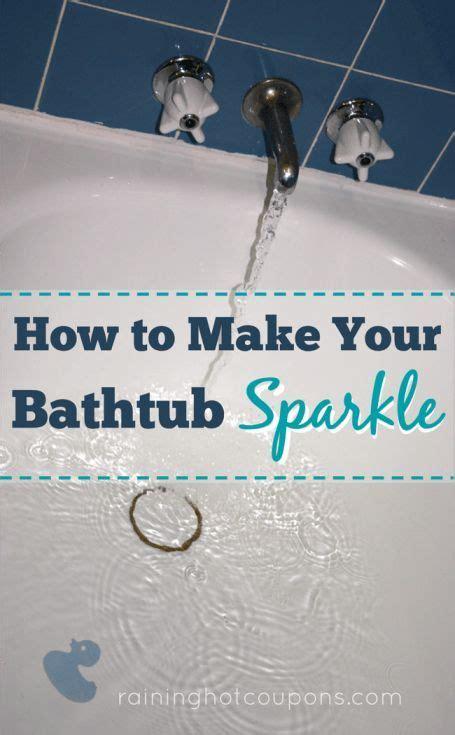 how to deep clean bathtub 25 best ideas about clean bathtub on pinterest bathtub