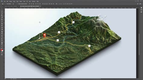 3d maps from maps and heightmaps to 3d terrain 3d map generator terrain photoshop