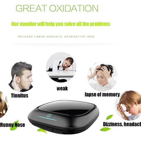 free shipping portable car air purifier with hepa filter with usb from ohmeka in gas analyzers