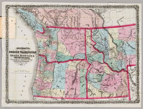 map of oregon and idaho idaho washington map
