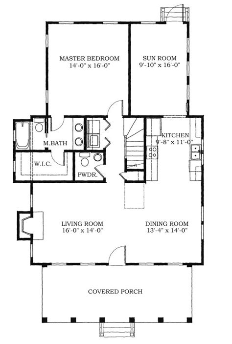 historic southern house plan 73712 25 best images about house plans on pinterest cottage