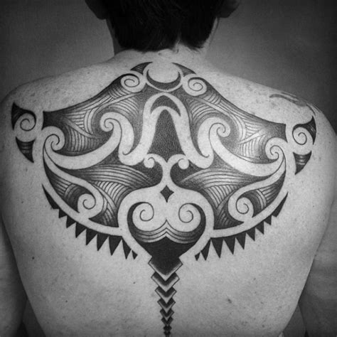 tribal stingray tattoo 60 stingray designs for aquatic fish ink ideas