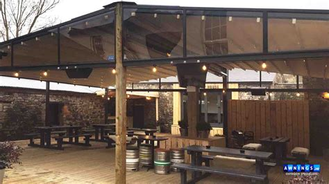awnings ie awnings ireland awnings canopies blinds and beer garden
