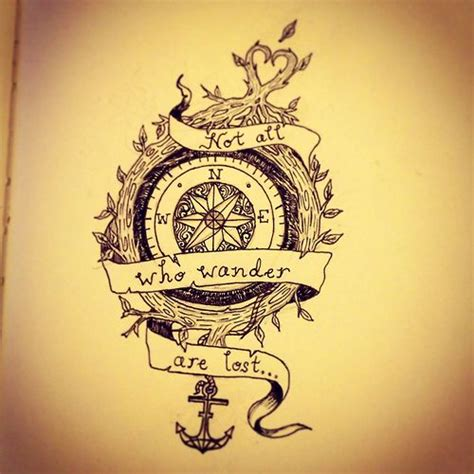 tattoo quotes to go with a compass boussole travel pinterest search and quotes