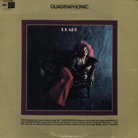 janis joplin pearl vinyl lp album quadraphonic discogs