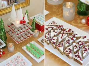 Christmas Desserts by Classic Holiday Dessert Table Glorious Treats