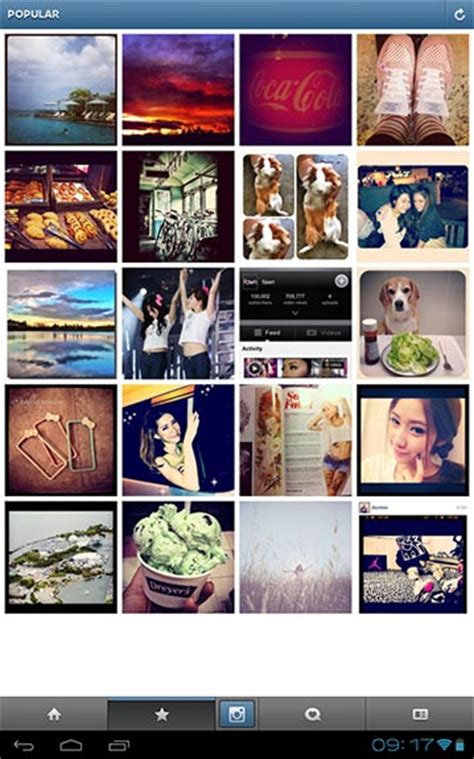 instagram for android tablets instagram for android updated with tablet support pocketnow