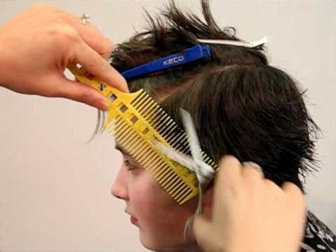 combpal pro haircutting tool scissor over comb guide how to cut men s kid s hair short