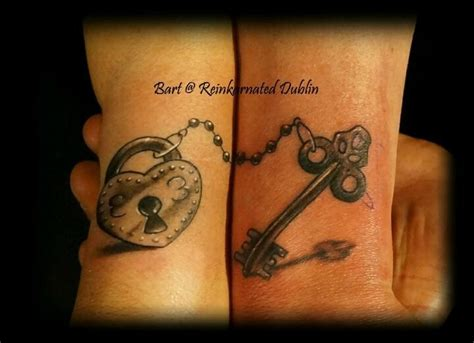 lock and key couples tattoos 80 inspiring ideas to express your lovely in