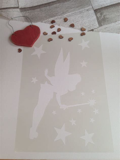 tinkerbell stencils for painting bedrooms