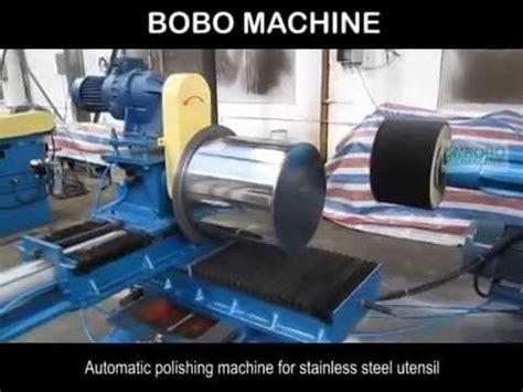 Panci Continental mesin poles otomatis untuk peralatan stainless steel dwifitri tata boga