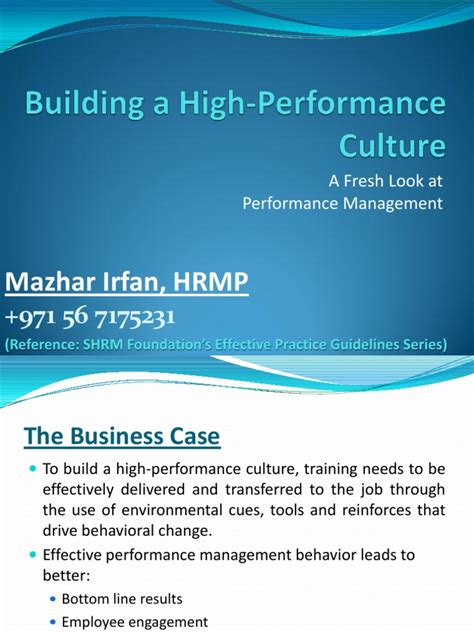 high performance computing modern systems and practices books building a high performance culture