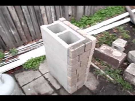 Homemade Planters How To Build A Stone Grill Youtube