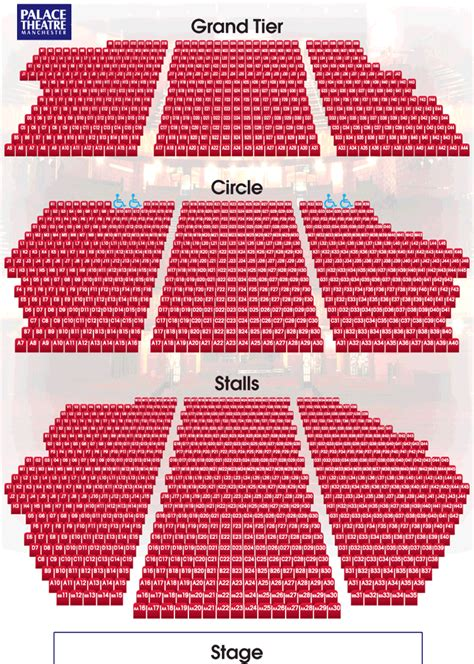 Opera House Seating Plan Manchester Opera House Manchester Seating Plan Home Design And Style
