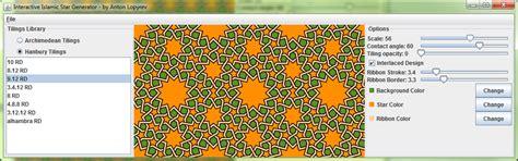 islamic pattern generator anton lopyrev interactive islamic star generator