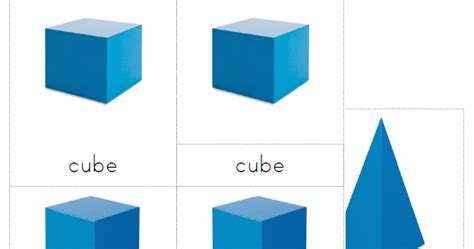 printable montessori geometric shapes the helpful garden geometric solids nomenclature cards