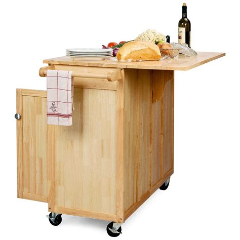 kitchen island cart with stools the vinton portable kitchen island with optional stools
