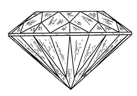 download diamond coloring page