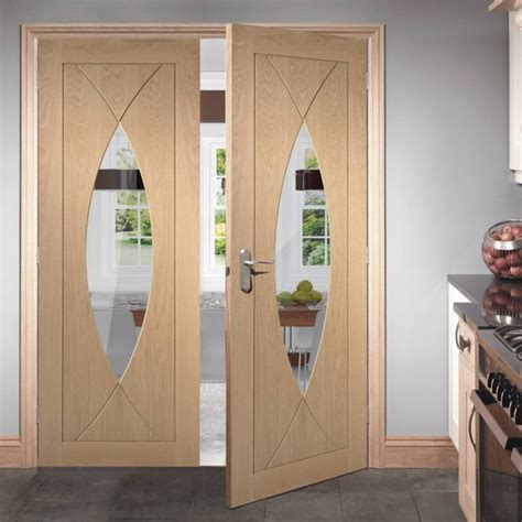 glamorous wooden doors  give  dimension