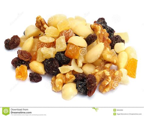 Mixed Nuts And Fruits 1 mixed dried fruit and nuts stock image image of organic 9955095