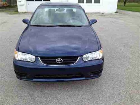 2001 Toyota Corolla Mpg Sell Used 2001 Toyota Corolla 5 Speed 1 Owner Clean
