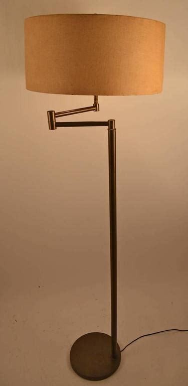brass swing arm l brass swing arm floor l for sale at 1stdibs