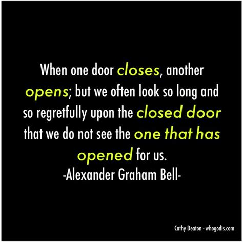 When One Door Closes Another One Opens by How Do You React To Closed Doors