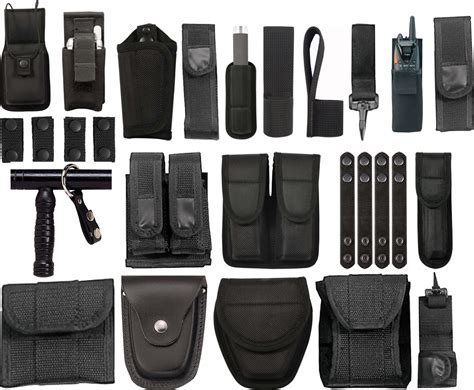 uniform accessories security accessories security police officer ems security duty belt pouches rigs ebay