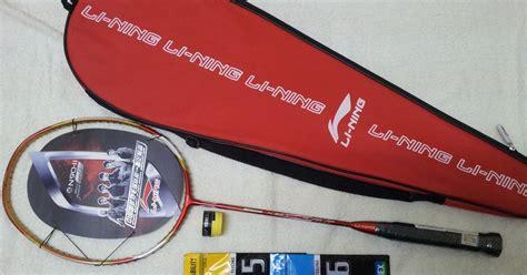 Raket Lining Hc 1200 raket badminton yonex li ning promosi raket model yonex dan li ning 2013