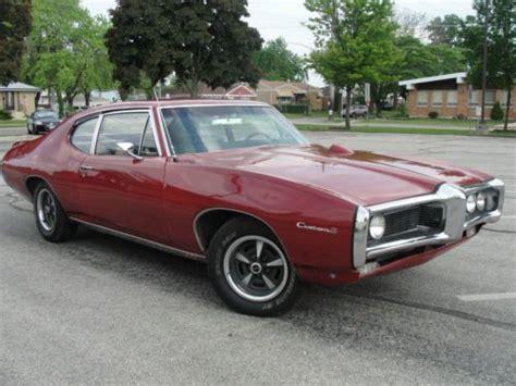69 pontiac tempest purchase used 1969 pontiac tempest custom s sports coupe
