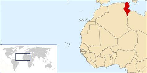 where is tunisia located on a map tunisia detailed location map detailed location map of
