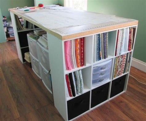 cutting table for sewing room 17 best images about sewing rooms cutting tables on storage cubes tables and