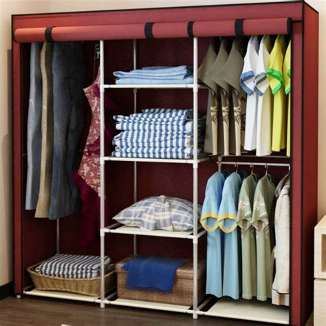 Closet Portable Storage Wardrobe by Image Portable Storage Closets Wardrobe