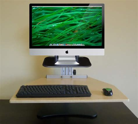Captivating Imac Computer Desk With White Paint Walls And Computer Desk Imac