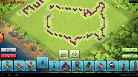 layout design th8 clash of clans quot america quot funny base layout speed build