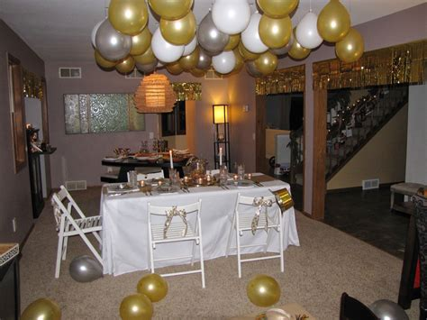 new year party decoration ideas at home wispy house gold silver new year s eve party