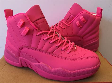 2017 new air 12 gs all pink for sale new jordans 2016