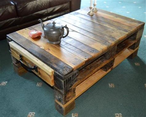 Pallet Coffee Table Ideas Pallet Coffee Table With Storage Ideas Pallets Designs